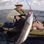 kayak fishing sailfish