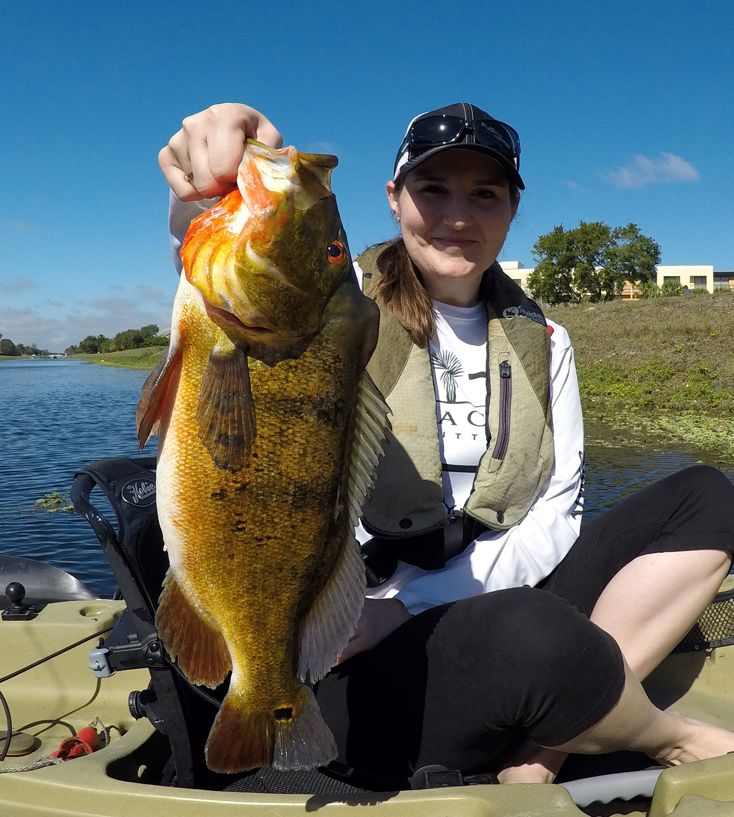 Reserve your kayak fishing guide today for the ultimate for Peacock bass fishing trips