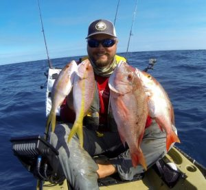 Yellowtail and Mutton Snapper