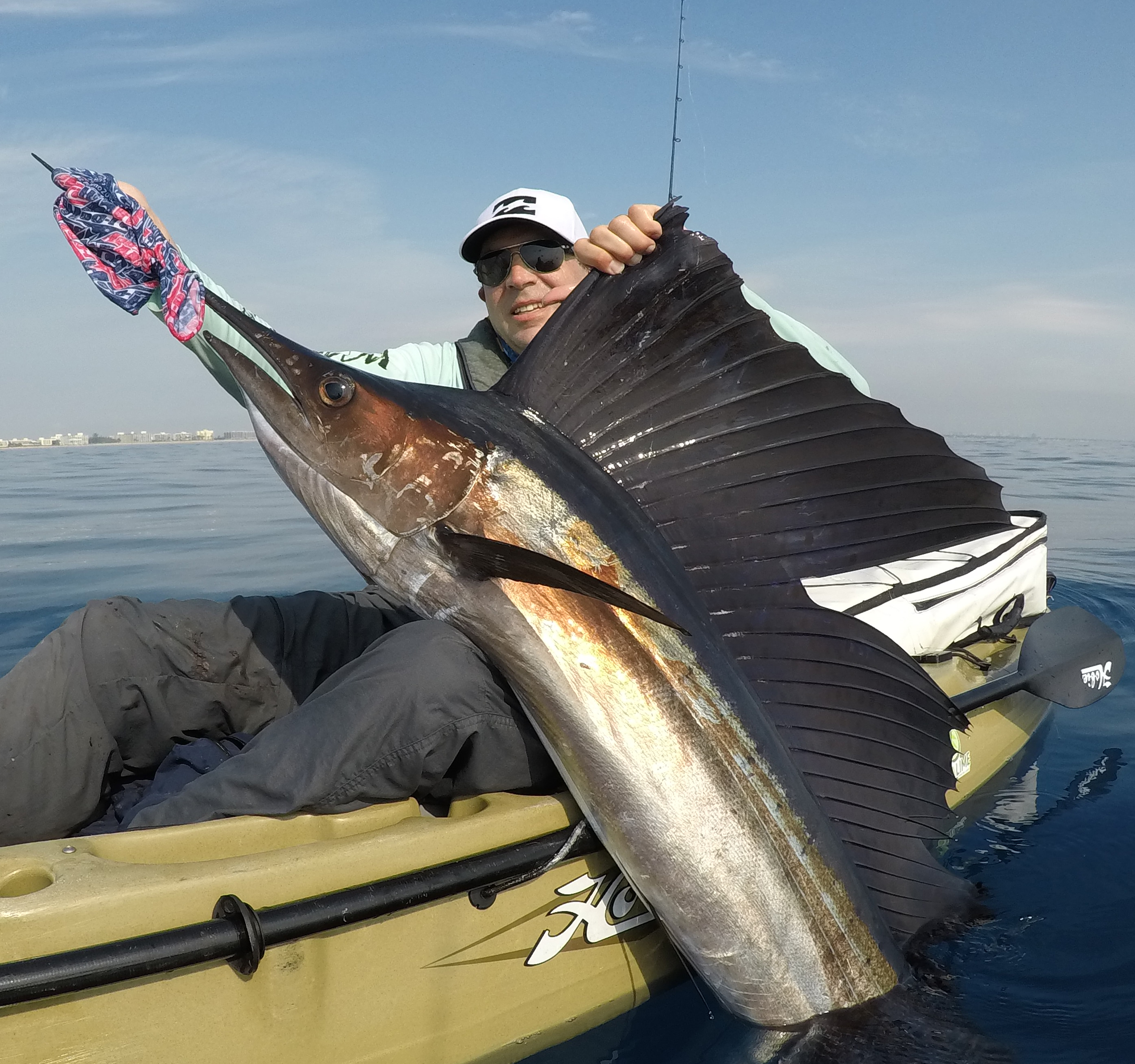 sailfish charters pushin water kayak fishing charters